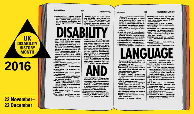 UKDHM 2016 – Disability and Language