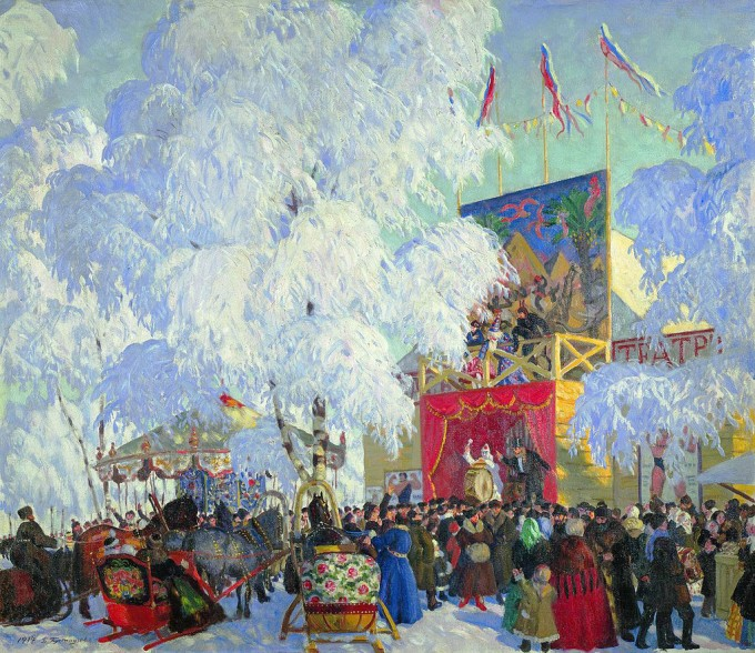1024px-Show_booths._Kustodiev 1916_1920