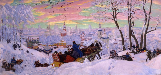 Boris_Kustodiev_-_Shrovetide_-_Google_ 1916