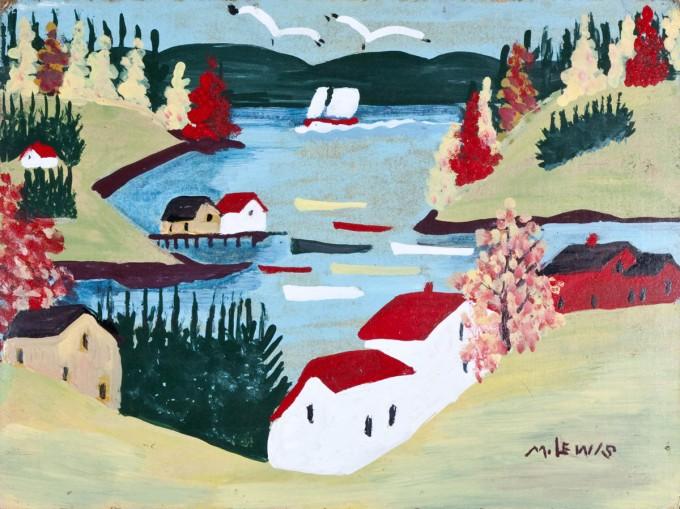 Maud Lewis Ben Lowman Harbour