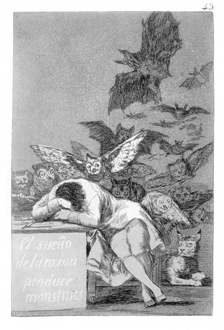 the_sleep_of_reason_produces_monsters-Goya 1797 to 1799