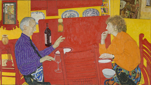 03-utermohlen-1991-conversation-oil-on-canvas-86x122cm