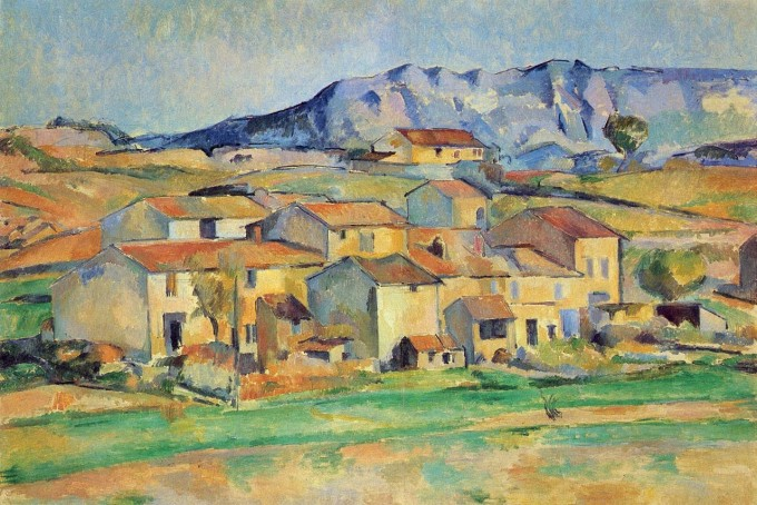 1886-90 Mont Sainte-Victoire seen from Gardanne oil on canvas 62.5 x 91 cm National Gallery of Art, Washington D.C.