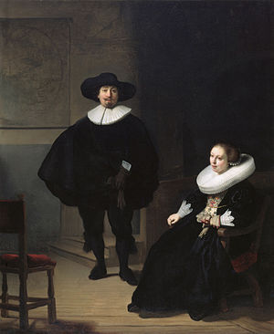 A_lady_and_gentleman_in_black,_by_Rembrandt 1633