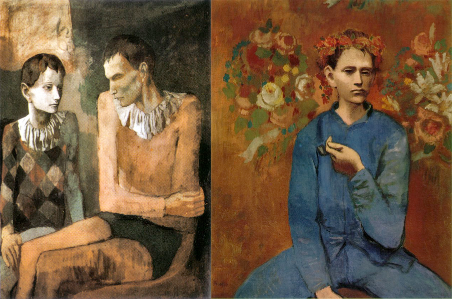 Blue Boy Painting By Picasso