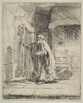 DP814771 bLINDNESS OF tOBIT rEMBRANDT 1651 nym
