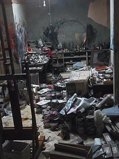 Dublin_Francis_Bacon_Gallery_The_Hugh_Lane749 Relocated Studio with 7000 items