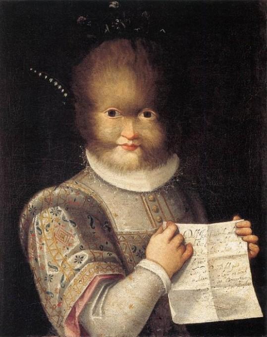 Lavinia Fontana, Antoinetta Gonzalez, 1656.