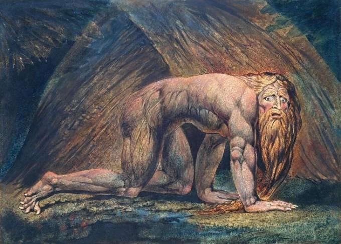 Nebuchadnezzar 1795-c. 1805 William Blake 1757-1827 Presented by W. Graham Robertson 1939 http://www.tate.org.uk/art/work/N05059