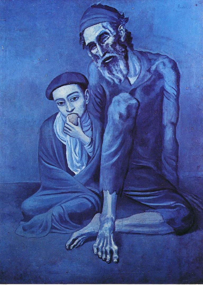 UKDHM – Pablo Picasso, Blue Period Art and Depression