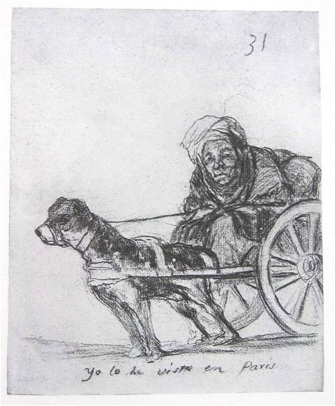 Picture24 Goya Yo lo he visto en Paris 1824-28