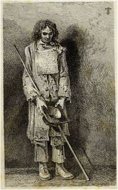 Picture30 Blind Beggar with stick