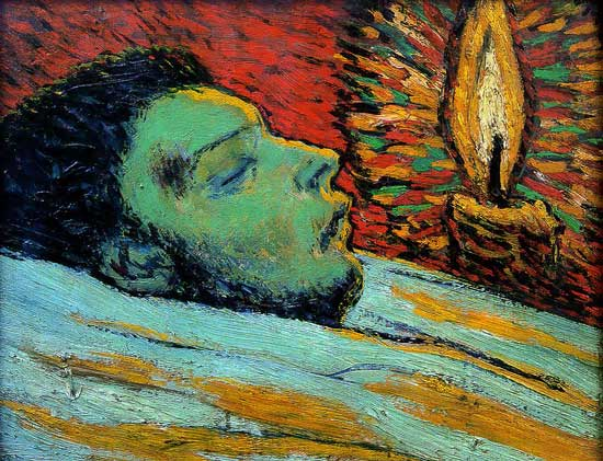 The death of casagemas Picasso 1901
