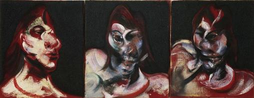 Three_Studies_for_the_Portrait_of_Henrietta_Moraes 1963