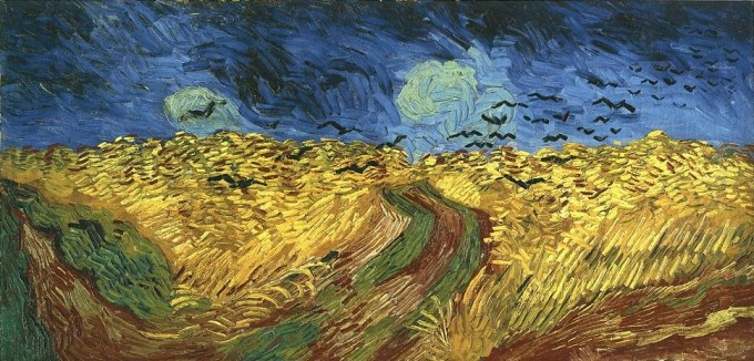 Wheat fields with Crows July 1890