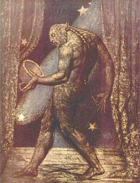 William_Blake_002 IMAGE OF APPARITION