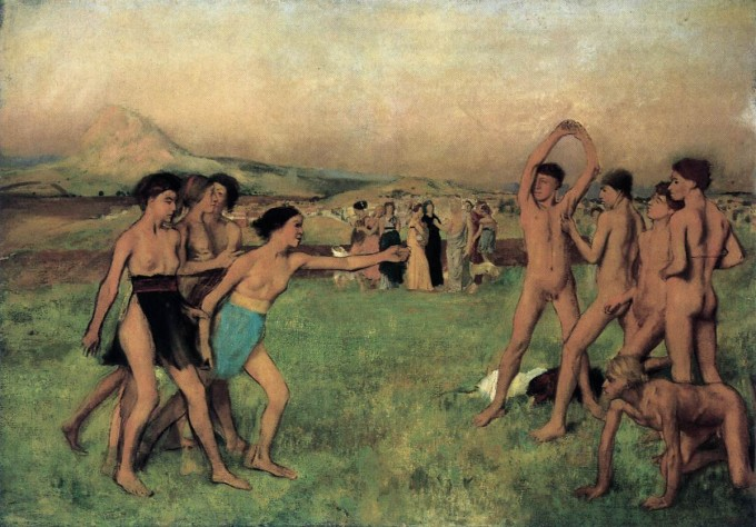 edgar-degas-young-spartans-exercising
