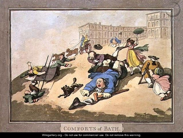 rowlandson_the-bath-races-plate-12-from-comforts-of-bath-1798