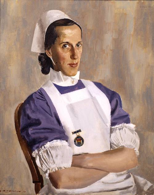 Sister Fry 1939 Alfred R. Thomson 1894-1979 Presented by the Trustees of the Chantrey Bequest 1940 http://www.tate.org.uk/art/work/N05107