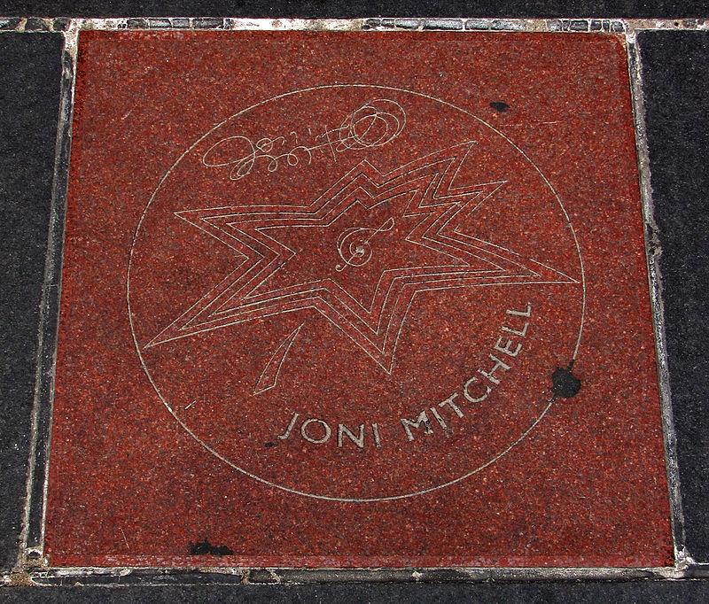 UKDHM – Joni Mitchell 1943– Singer Songwriter  Polio survivor