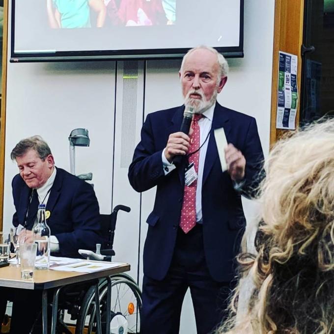 Sir Richard Stilgoe at UKDHM Launch