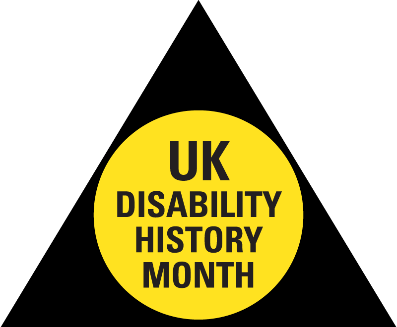 UK Disability History Month logo