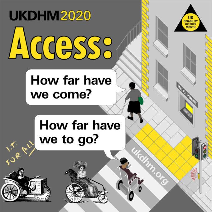 UK Disability History Month – 18 November – 20 December